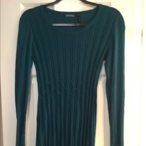 Daisy Fuentes teal sweater. GUC